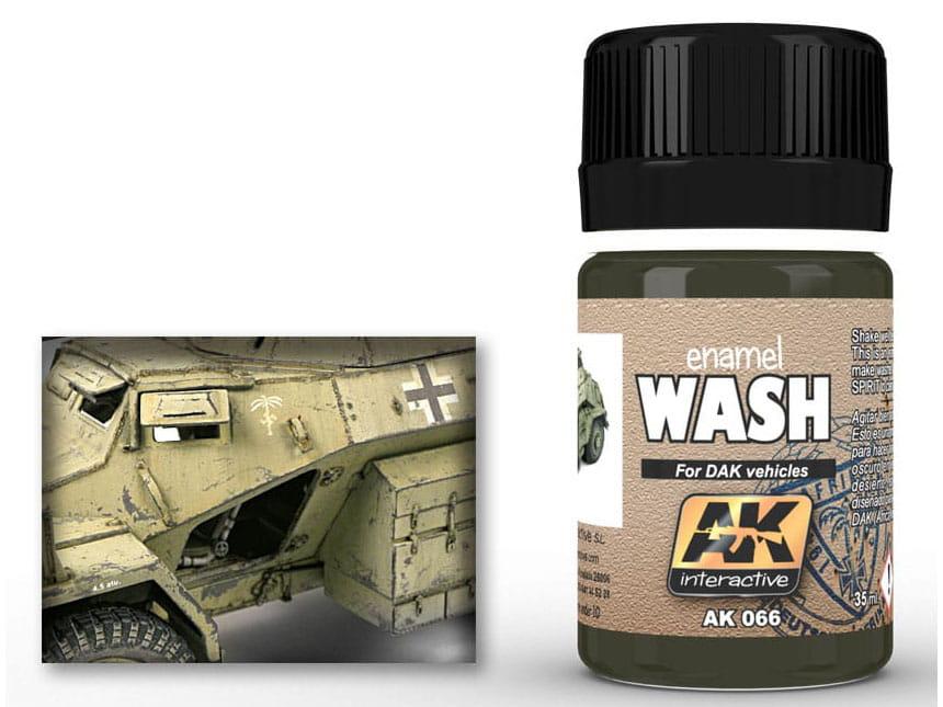 Wash DAK vehicles Afrika Korps