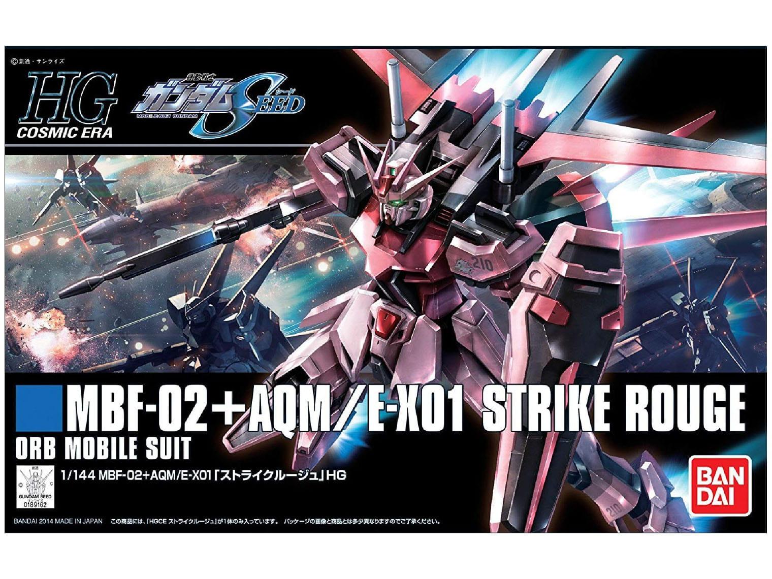 MBF-02+AQM/E-X01 Strike rouge ORG